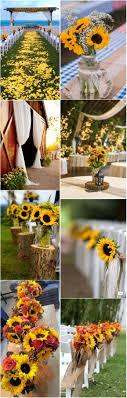 Rustic Wedding Decor Wholesale Luxury 23 Bright Sunflower Decoration Ideas For Your