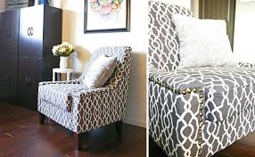 Cheetah Print Furniture Accent Chairs Dining Room Zebra Wing Chair Covered Blue