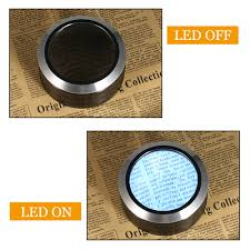Desktop Magnifying Lamp Canada by 6x Led Desktop Magnifier Multifunctional Reading Glass Loupe