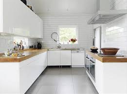 home kitchen ideas in a white theme concept sterile white home