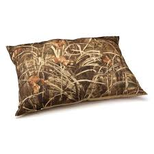 Dallas Manufacturing Company Dog Bed by Dallas Manufacturing Company Camo Pillow Pet Bed Mossy Oak