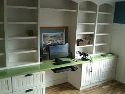 Ikea Desk With Hutch by Wall Units Awesome Built In Desks And Bookshelves Built In Desks