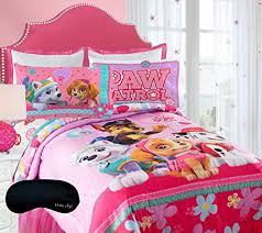 Paw Patrol Girls Pink Bedding Skye Everest forter Full Sheet