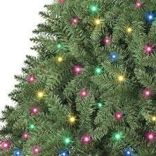 Pre Lit Multicolor Christmas Tree Sale by Trim A Home 6 U0027 Multicolor Boulder Mountain Pine Tree Kmart