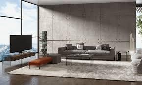 wohnzimmer einrichten mit stil dreieck design