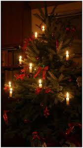 Placing Live Candles On Our Christmas Tree Has Be E A Tradition In My Family Grandpa