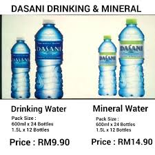 Dasani Water 24 Pack Price Photo