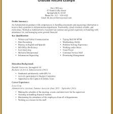 Example Of Student Resume With No Experience Outstanding Sample College For Summer