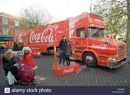 100 Coke Truck Coke Coca Cola Lorry Christmas Santa Claus St Nickolas Marketing