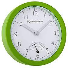 bresser mytime badezimmer funkuhr thermometer