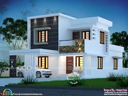 100 Home Designed 1800 Sqft 4 Bedroom Modern House Plan Kerala Home Design