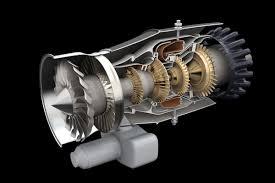 100 Turbine Truck Engines PW615 3D Schematic On Behance Jet Engine Pinterest Jet Engine