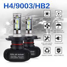 aliexpress buy nicecnc h4 9003 hb2 led motorcycle headlight
