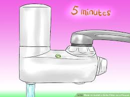 how to install a brita filter on a faucet 15 steps