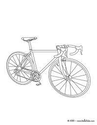 Racing Bike Coloring Page