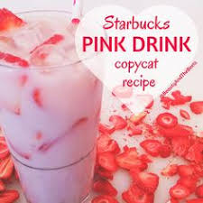 PinkDrink Starbucks Pink Drink Copycat Recipe By Beauty And The Beets