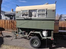 100 Alaskan Truck Camper Camper Military Trailer IH8MUD Forum