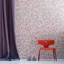 papier peint fille chambre nouveauté espace au fil des couleurs papiers peints