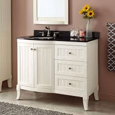 Bathroom Vanities 42 Inches Wide by Custom White 42 Inch Bathroom Vanity For Fresh Home Design Ideas