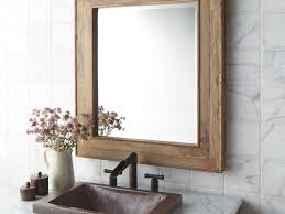 Bathrooms Design : Img Reclaimed Wood Bathroom Vanity Ana White ... Barn Board Picture Frames Rustic Charcoal Mirrors Made With Reclaimed Wood Available To Order Size Rustic Wood Countertops Floor Innovative Distressed Western Shop Allen Roth Beveled Wall Mirror At Lowescom 38 Best Works Images On Pinterest Boards Diy Easy Framed Diystinctly Mirror Frame Youtube Bathrooms Design Frame Ideas Bathroom Bath Restoration Hdware Bulletin Driven By Decor