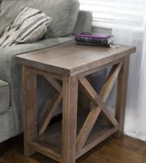 Awesome Best 25 Rustic End Tables Ideas On Pinterest Wood Regarding Ordinary
