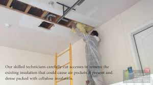 Insulating Cathedral Ceiling With Roxul by How Garage Ceiling Insulation Should Actually Be Installed Dover