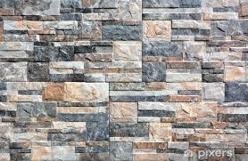 fototapete steinwand mit abstrakten muster