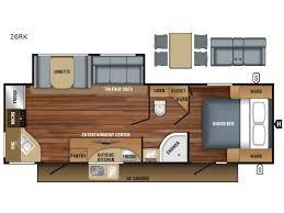 Jayco Fifth Wheel Floor Plans 2018 by New 2018 Jayco White Hawk 26rk Travel Trailer At Fretz Rv