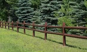 Round Rail Fencing