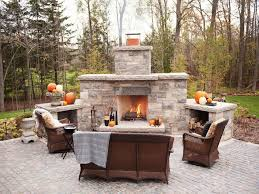 Awesome And Beautiful Outdoor Fireplace Designs Plans Modern