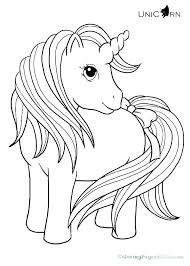 Unicorn With Wings Colouring Pages Printable Coloring For Kids Of