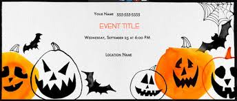 Halloween Potluck Invitation Template Free Printable by No Carve Halloween Pumpkins Evite