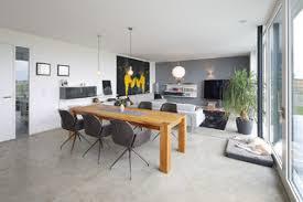 75 wohnzimmer mit betonboden ideen bilder april 2021