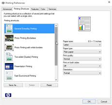 The Printing Preferences Dialog Box Lets You Change Settings Specific To Your Printer Including Th