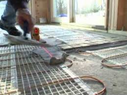 underfloor radiant heating products accessories