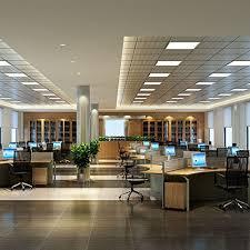 24x24 inch led panel light l 40w cool white light for office