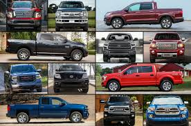 2018 New Trucks: The Ultimate Buyer's Guide - Motor Trend 2016 Ford F150 Vs Ram 1500 Ecodiesel Chevy Silverado Autoguidecom 2012 Halfton Truck Shootout Nissan Titan 4x4 Pro4x Comparison 2015 Chevrolet 2500hd Questions Is A 2500 3 Pickup Truck Shdown We Compare The V6 12tons 12ton 5 Trucks Days 1 Winner Medium Duty What Does Threequarterton Oneton Mean When Talking 2018 Big Three Gms Market Share Soars In July Need To Tow Classic The Bring Halfton Diesels Detroit