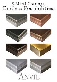 Bathtub Refinishing Training Classes by Anvil Metal Countertops Are Available In 8 Metal Coatings