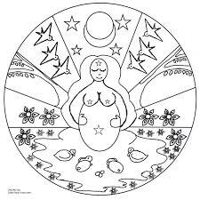 Free Printable Celtic Mandalas To Color Mandala Coloring Pages Print Sheets