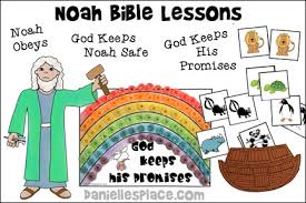 Noahs Ark Bible Lessons For Children From Daniellesplace