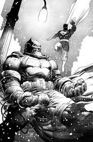 The Dark Knight III 2 By Jim Lee Inks Ron Salas
