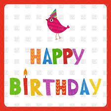 Birthday Card Vector Design Business And Birthday Card Inspiration