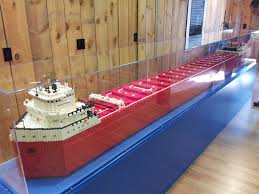 What Time Did The Edmund Fitzgerald Sank by Lego Model Of The Edmund Fitzgerald Lego