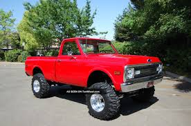100 1970 Truck Chevy Chevrolet K10 Short Bed 4x4 CK Pickup 1500 Photo