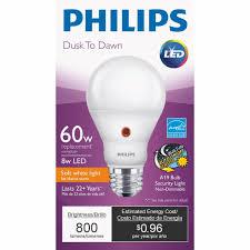 philips a19 medium dusk to led light bulb 466581 do it best