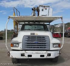 1997 Ford F800 Bucket Truck   Item K3982   SOLD! May 23 Shar...