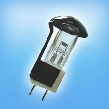 million operating light bulb with black cap 24v50w g8 base halogen
