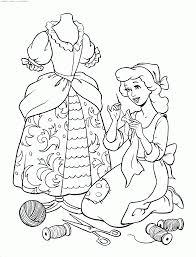 Coloriage Cendrilloncoloriage Princesse Disney Cendrillon à