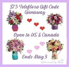 $75 Teleflora Gift Code Giveaway - Life With Kathy Save 50 On Valentines Day Flowers From Teleflora Saloncom Ticwatch E Promo Code Coupon Fraud Cviction Discount Park And Fly Ronto Asda Groceries Beautiful August 2018 Deals Macy S Online Coupon Codes January 2019 H P Promotional Vouchers Promo Codes October Times Scare Nyc Luxury Watches Hong Kong Chatelles Splice Discount Telefloras Fall Fantasia In High Point Nc Llanes Flower Shop Llc