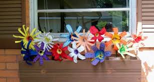Recycle Flower Craft Plastic Bottle Easy Make Arts Crafts
